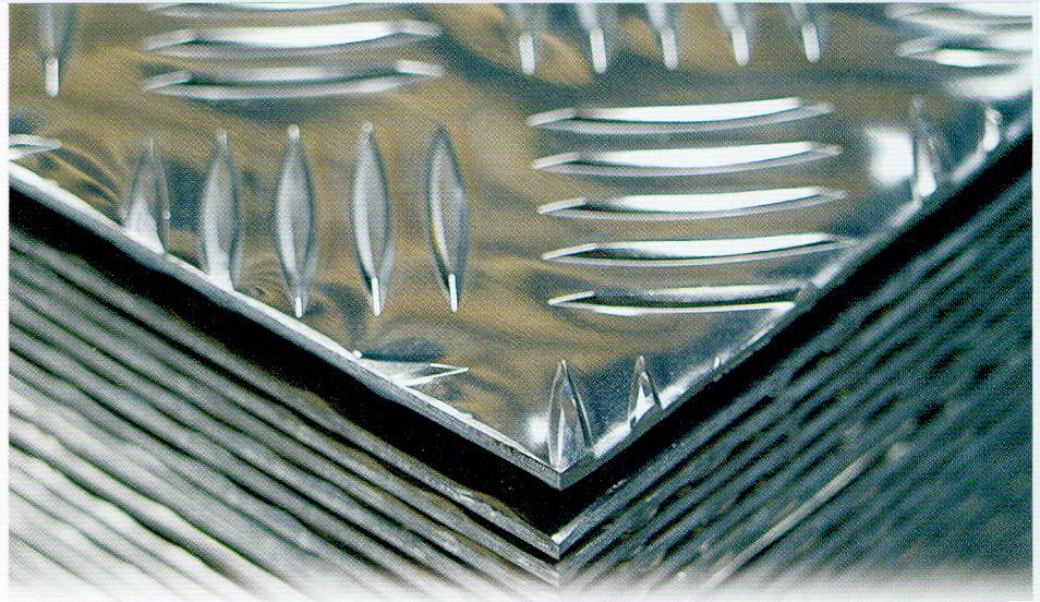 Aluminium tole damier 5754 - Tole alu damier ...